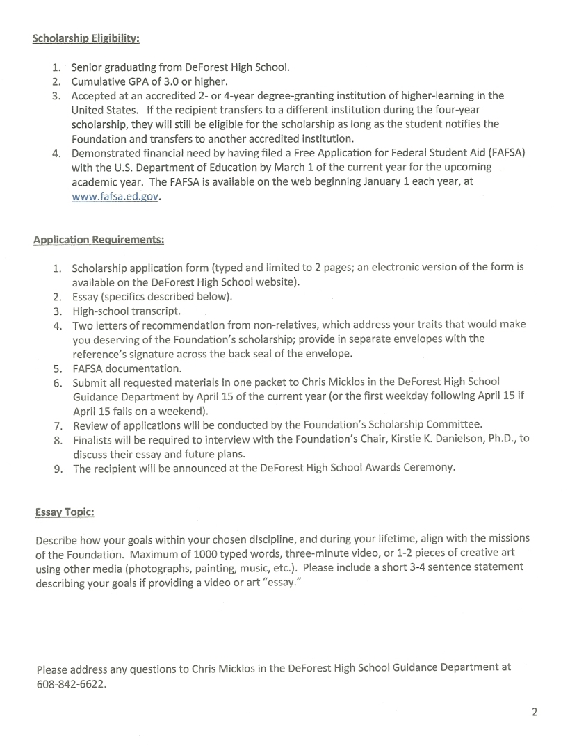 Application pg 2