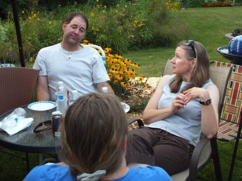 DSCF1234  Mike Statz & Sonja